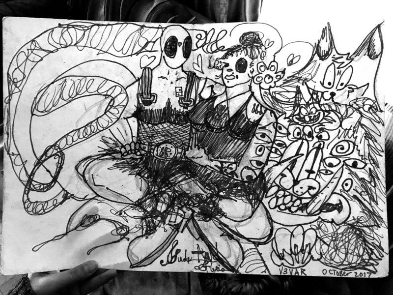 Deadpool + Domino
